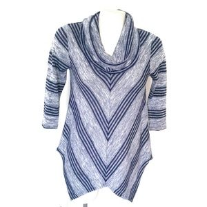 2/$20! New Directions Cowl Neck Sweater Tunic